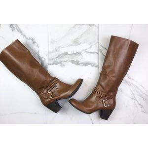 Nine West• Tan Vintage America Boots